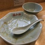 梁山泊 - 梁山泊(東京都練馬区関町南)肉あんかけチャーハン