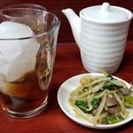 玉蘭 - 紹興酒 500円。