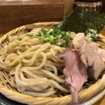 95816516 - 秋刀魚燻製つけ麺[普通盛]