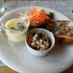 ラ クチーナ ディ イク - 料理写真:前菜盛り合わせ