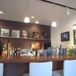 カフェ ビタースイート - 店内(カウンター席)
