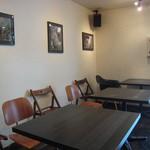 カフェ ビタースイート - 店内(テーブル席)