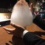 95820743 - 大人のかき氷「安納芋のティラミス」