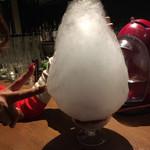 95820745 - 大人のかき氷「フランボワーズのピュアラブ」
