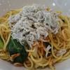 romesupabaruboa - 料理写真:焼きパスタ 桜海老とシラス 880円