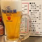野毛ホルモンセンター - 2018年10月 生ビール