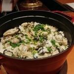 95828270 - 牡蠣のストウブご飯