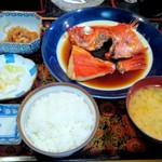 魚処にしけん - 恋人セット(金目定食)刺身定食と2セット¥3900