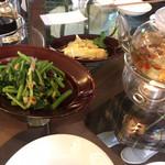 95832713 - 空芯菜の炒め物。