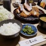95834955 - 亀かわ一頭揚げ定食(全5種盛り)