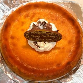 アンシャンテ - 料理写真:ベイクドチーズ(7号誕生日)