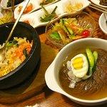 ジャンモ - 【石焼ミニ冷麺セット…1,500円】2011/9
