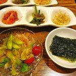ジャンモ - サラダと韓国海苔・2011/9