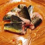 ビストロ 883 - 炙り秋刀魚のカルパッチョ♪