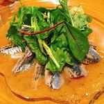 ビストロ 883 - 秋刀魚のカルパッチョ♪