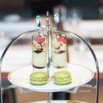 SEPTIEME Brasserie & Bar - グラスデザート ティラミス オリーブのマカロン