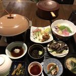 民宿金ヶ浜 - 料理写真:宿泊客用の夕食