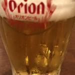 沖縄料理店うちなー - ☆オリオンビール♪