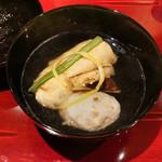 Shinohara - 松茸、湯葉、紅ズワイ真丈のお椀