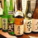 鮨大 - 地酒・本格焼酎も多数取り揃えております。