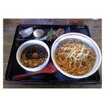 壱番亭 - 味玉つけ麺(大盛) 800円