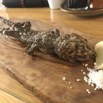 米とサーカス - 大ヤモリの姿揚げ