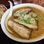 Kokuichiban - スープ 味噌でいただきました。