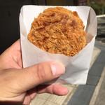 ごち惣さん - 料理写真:メンチカツ