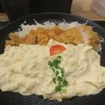 うめっちゃが食堂 - 宮崎チキン南蛮定食(980円)