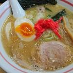 麺小屋 ここりこ - いつもの鶏白湯ラーメン650円+味玉100円✌️
