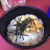 上越家 - 料理写真:ライス(玉子まぶし) ¥100