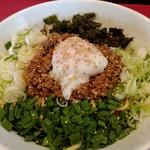 らー麺 つけ麺 おぐり - 台湾そば(800円)