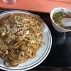 伊勢屋 - 料理写真:野菜玉子入り鉄板焼きそば 700円