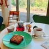 ツリー ハウス - 料理写真:キャロットケーキとブレンドティー