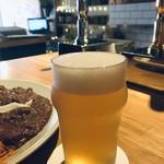 ガーデン バイ マザームーン - 淡路産のレモンを使ったクラフトビール「島レモン」、非熱処理フルーティな香りのビールです(2018.11.4)