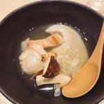 95859634 - フカヒレと松茸とキンキとはまぐり