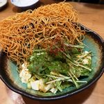 肉と日本酒 八卦よい - 突っパリパリサラダ