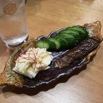 肉と日本酒 八卦よい - 塩酒麹漬物盛り合わせ