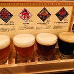 95861351 - ビアフライト  クラフトビール飲み比べ