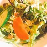 Bishokubisaiichigoichie - セットサラダ