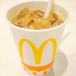 マクドナルド - アイスコーヒーS100円