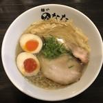 麺や ひなた - 塩らーめん(味玉付き)