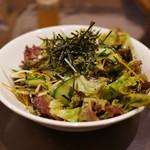 炭火焼肉ともじ - 和風サラダ