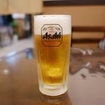 炭火焼肉ともじ - 生ビール