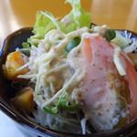 遊麺屋 - 生野菜サラダです