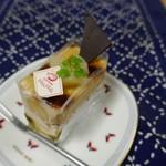 ケーキハウス・ナナ - キャラメルポワール350円