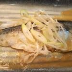 目利きの銀次 - さば味噌煮(2018年11月2日撮影)
