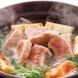 ★受付中!!★忘年会に本マグロ・鰤の出汁しゃぶ鍋コース!!