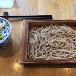 95873209 - 2018年10月 自家製十割蕎麦 500円(税抜)