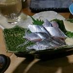 喜多郎寿し - サンマ刺し